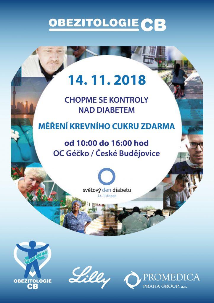 Plakát na den diabetu 2018